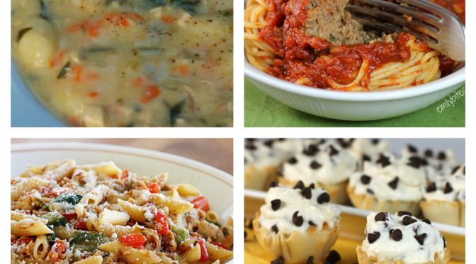 32 Italian Recipes (With Their SmartPoints)!