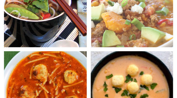 24 Soup Recipes AND Their SmartPoints!